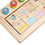 Match Game Board Kids Figures Counting Math