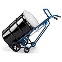 Hercules 4-Wheel Drum Truck - 1000-Lb. Capacity