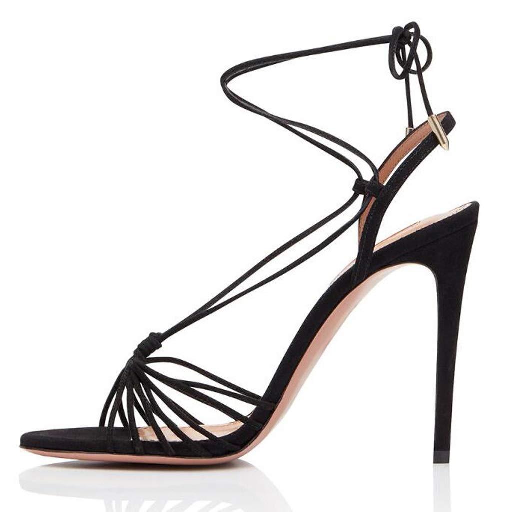ハイヒールのサンダル大きいサイズの女性の靴は宴会、スーパーハイヒール(8CM以上)に適しています