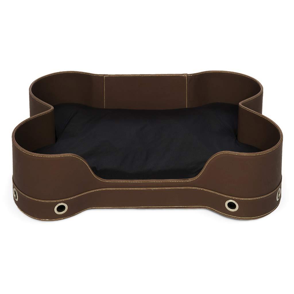 Brown S Brown S Chengxin Beds & Furniture European Bone Kennel Cat Nest, Cat Litter Brown, Beige Pet Nest Bed Beds & Furniture (color   Brown, Size   S)