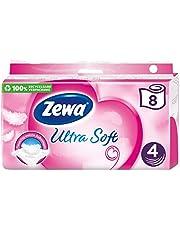 Zewa Ultra Soft toiletpapier 4-laags (8 rollen x 150 vellen)