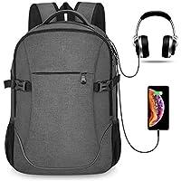 Maxvolador Anti Theft Lightweight Travel Laptop Backpack (Dark Grey)