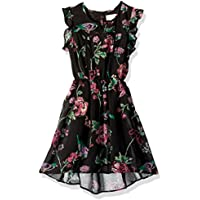 The Children's Place Girls' Flutter Sleeve Casual Dresses