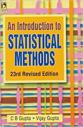 Statistical Methods By Sp Gupta Ebook
