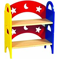 Guidecraft Moon & Stars Stacking Bookshelf (Set of 2)