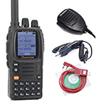 Wouxun KG-UV9D Plus Two Way Radios + 1 Speaker Mic + 1 Car Charger Cable + 1 USB Programming Cable