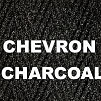 COMMERCIAL RUNNER MATS (Chevron/Charcoal, 3 Ft X 6 Ft)