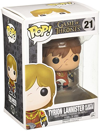 Funko Pop! - Vinyl Game of Thrones Tyrion in Battle Armour (3779)