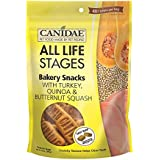 CANIDAE All Life Stages Bakery Snacks for Dogs with Turkey, Quinoa & Butternut Squash, 14 oz.