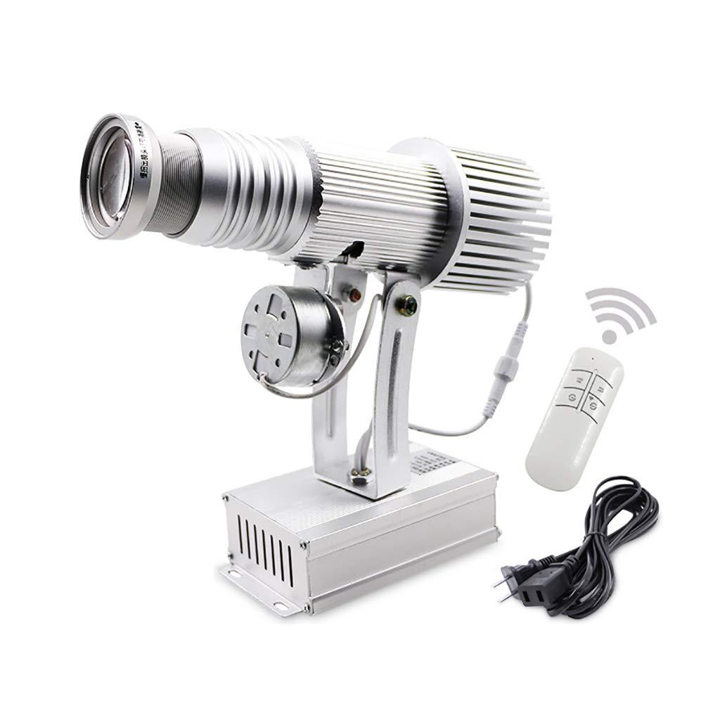Proiettore HD personalizzato da 35 W con LED, zoom manuale, pubblicità luminosa (colore   Bianca)