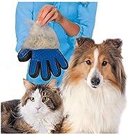 Luva Escova Tira Pelos Cães e Gatos Nano Magnética