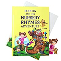 Personalized Nursery Rhymes and Poems Book. Every Rhyme Includes the Childs Name