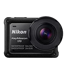 Nikon Keymission 170 4K, HD Action Camera, Black (Renewed)
