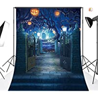 LB 5x7ft Halloween Vinyl Photography Backdrop Customized Photo Background Studio Prop WSJ476