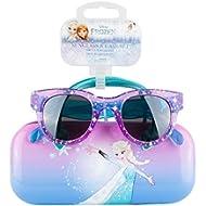 [Sponsored]KIDS SUNGLASSES – GIRLS 100% UV SUNGLASSES W BONUS FUZZY HANDLE CASE, FROZEN, MINNIE,...