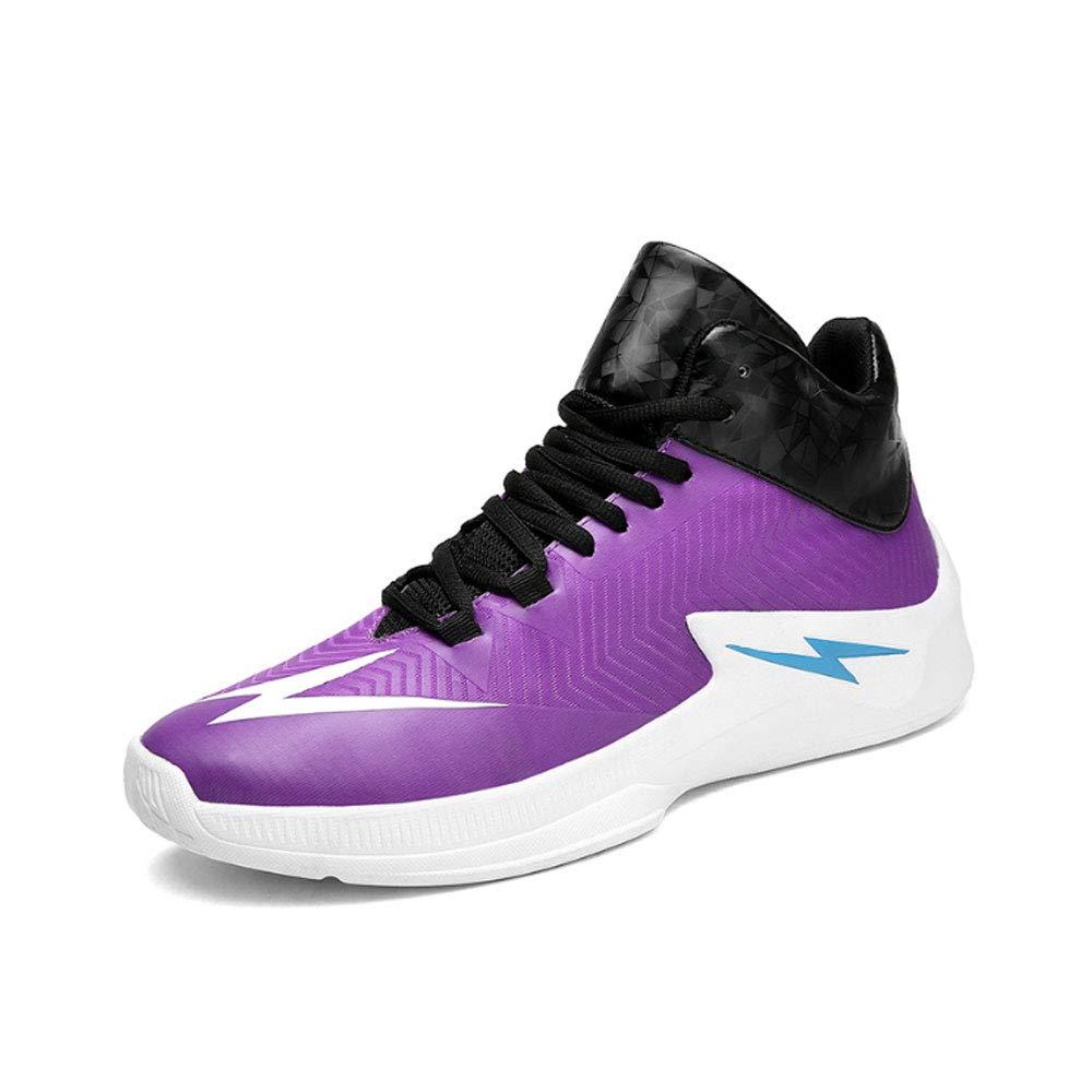YSZDM Basketball-Schuhe, High to Shock Absorption Rutschfeste Atmungsaktive Sportschuhe Sportschuhe Sportschuhe Outdoor Herren Trainingsschuhe,rot,44 B07PQXDR2S Basketballschuhe Jahresendverkauf 433e19