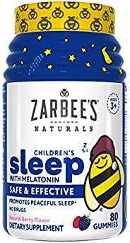 Zarbee's Naturals Children's Sleep with Melatonin Su