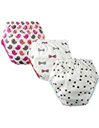 Baby Toddler 3 Pack Cute Cotton Toilet Training Pants Underwear