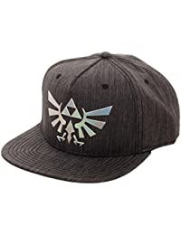 Legend of Zelda Logo Iridescent Weld Woven Fabric Snapback Hat