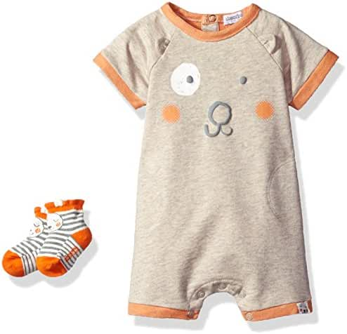 ABSORBA Baby Boys' Romper and Sock Set