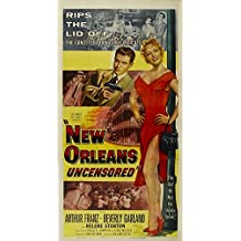 New Orleans Uncensored Poster Movie 20 x 40 Inches - 51cm x 102cm Arthur Franz Beverly Garland Helene Stanton Michael Ansara Stacy Harris