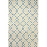 Bashian GREENWICH HG265 Collection Hand Tufted Wool  amp; Viscose Area Rug, 3.9 #39; x 5.9 #39;, Ivo