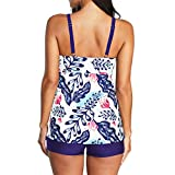 ZANDO Womens Two Piece Swimsuits Tummy Control