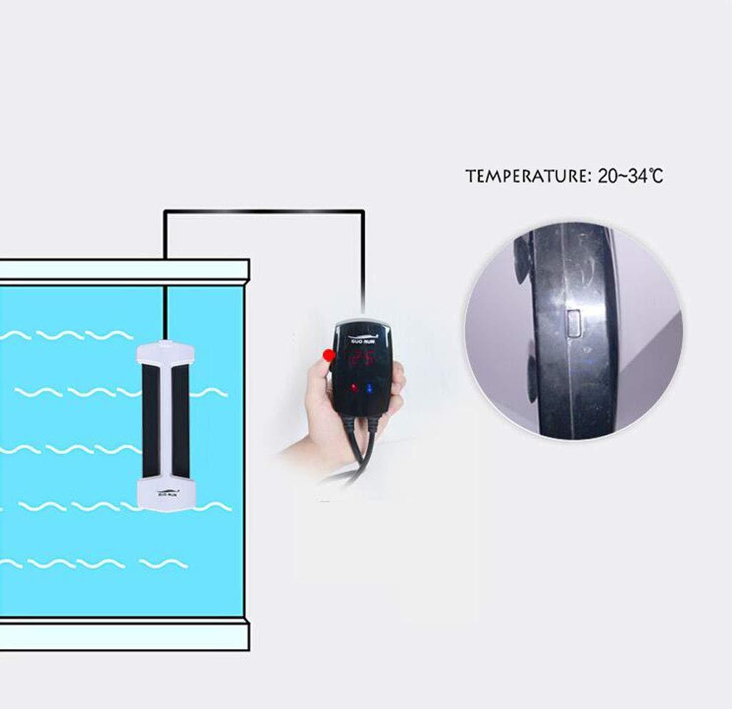 Lingyun Riscaldatore Riscaldatore Riscaldatore termometro Digitale per Acquario, termostato Automatico, Bianco Riscaldonnato Intelligente per sterilizzazione Nano 6c4754