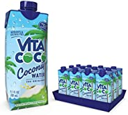 Vita Coco - Pure Coconut Water (330ml x 12) - Naturally Hydrating - Packed With Electrolytes - Gluten Free - F