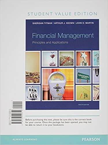 Amazon Com Financial Management Principles And Applications Student Value Edition Plus New Myfinancelab With Pearson Etext Access Card Package 12th Edition 9780133485561 Titman Sheridan Keown Arthur J Books