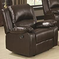 Coaster Home Furnishings 600973 Casual Recliner, Brown