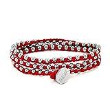 Morchic 3 Wraps Hand Woven Bracelet for Women