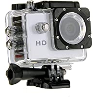 Lightinthebox1.5 LCD 720P 90 Degree Wide Angle Sports DV Waterproof Action Camera Camcorder Outdoor for Bicycle Motorcycle Diving Swimming White