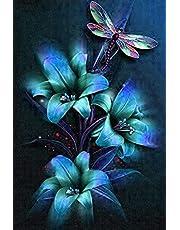Abstract Mandala Sunflower Diamond Art Painting Kit by LUHSICE, 45x45cm
