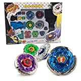 BBwin Battling Tops Bey Battle Burst Metal Fusion 4X Gyro Set Launchers Included High Performance Spinning Top