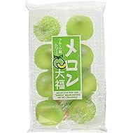 Japanese Fruits Daifuku (Rice Cake)-Melon Flavor