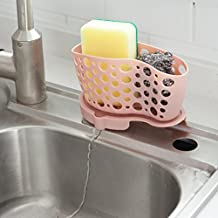 Compia New Bathroom Kitchen Utensil Box Hot Silicone Storage Bag Dishcloth Sponge Drain Basket Sink Grid Rack