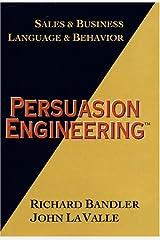 Persuasion Engineering Hardcover