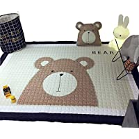 IHEARTYOU Baby Crawling Mat Cute Bear Play Carpet...