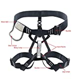 X XBEN Climbing Harness Professional Mountaineering Rock Climbing Harness,Rappelling Safety Harness - Work Safety Belt