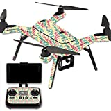 MightySkins Protective Vinyl Skin Decal for 3DR Solo Drone Quadcopter wrap cover sticker skins Electric Palms