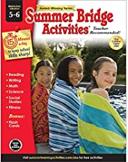 Summer Bridge Activities - Grades 5 - 6, Workbook for Summer Learning Loss, Math, Reading, Writing and More wi