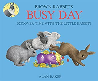Book Cover: Brown Rabbit's Busy Day