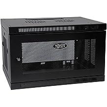"TRIPP LITE 6U Wall Mount Rack Enclosure Server Cabinet, 16.5"" Deep, Switch-Depth (SRW6U), Black"