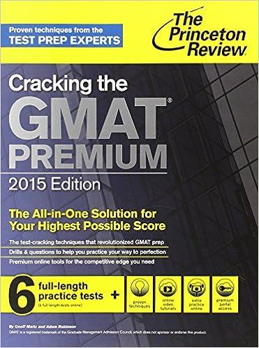 Princeton Gmat Book