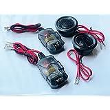 Memphis 15-MCX1A 1 MClass Series 100 Watts Peak Power Aluminum Alloy Dome Car Audio Stereo Tweeters Pair