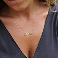 Tiny Name Necklace - Personalized Gold Filled Name Necklace - Sterling Silver Name Necklace - Custom Name Necklace - Mother's Day Gift