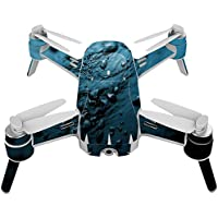 Skin For Yuneec Breeze 4K Drone – Blue Storm | MightySkins Protective, Durable, and Unique Vinyl Decal wrap cover | Easy To Apply, Remove, and Change Styles | Made in the USA
