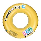Fenebort Swimming Ring Pool Float Inflatable Tube Water Ring for Adult Kids Summer Pool Beach Party (60cm, 70cm, 80cm)