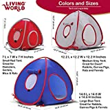 Living World Pet Tunnel, Small Animal Tunnel for